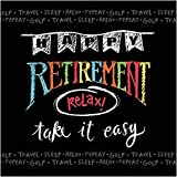 Creative Converting 16Count 3-Ply Retirement Chalk