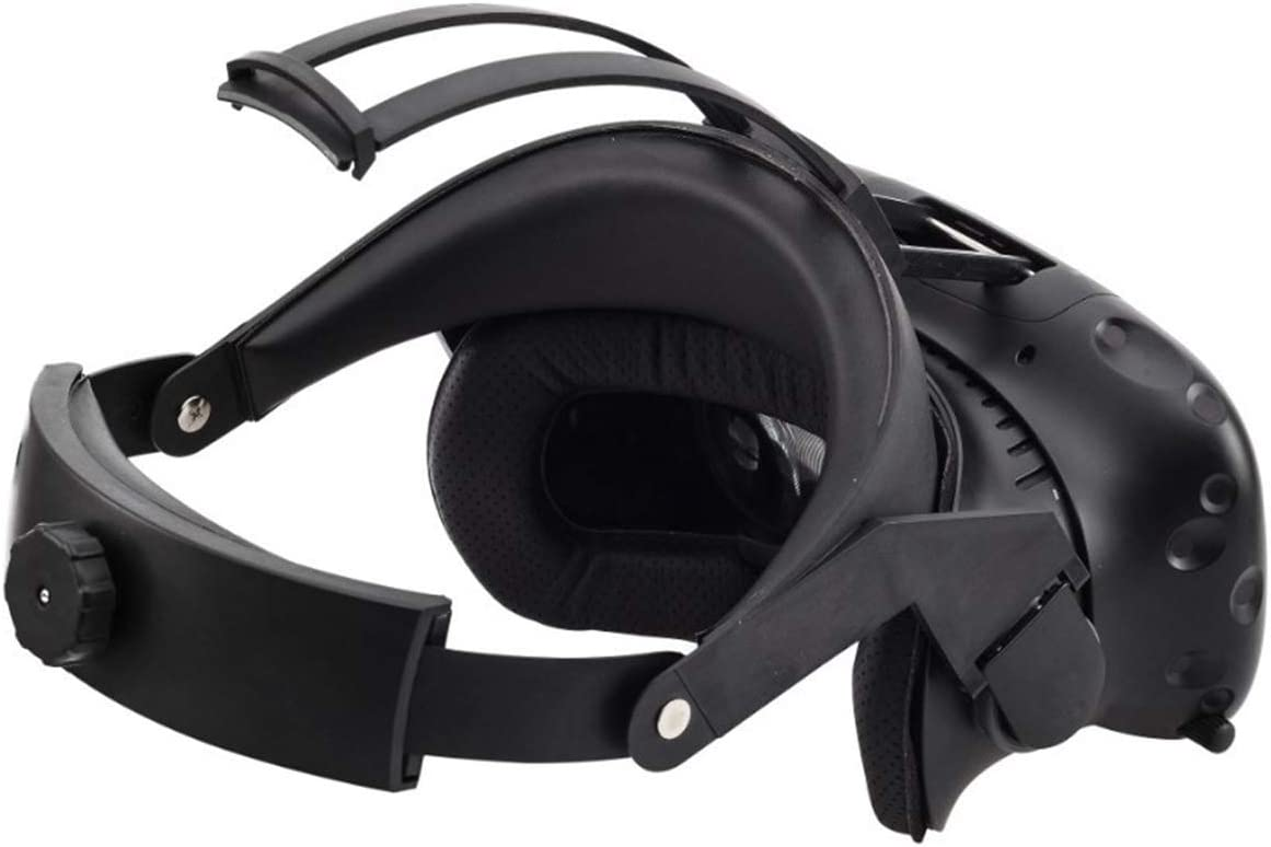 LICHIFIT Correa de audio Correa de cuero ajustable Correa para la cabeza Cintur/ón para HTC VIVE VR Accesorios