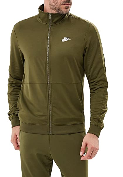 bbae4aa7571b Image Unavailable. Image not available for. Color  Nike Men s Sportswear  Tracksuit (Olive ...