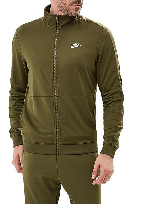 Nike M NSW CE TRK Suit PK - Chándal, Hombre, Multicolor(Olive ...