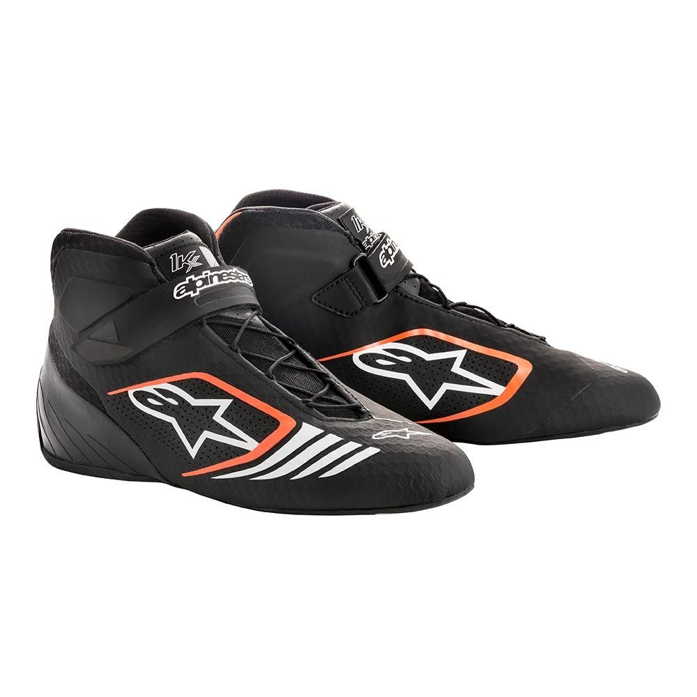 Blue//White//Orange Fluorescent Alpinestars 2712118-7024-12.5 Tech 1-KX Shoes Size 12.5