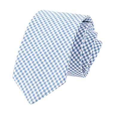 JUNGEN Corbata de Hombre Corbata a Cuadros de Rayas Corbata de ...