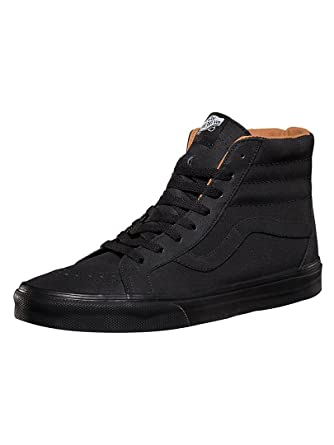 cbf86d41e366b6 Vans - Black Bran Xtuff Sk8-Hi Reissue Trainers - Men - Size  9 UK   Amazon.co.uk  Clothing