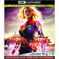 Captain Marvel  [4K Ultra HD + Blu-ray + Digital] (Bilingual)
