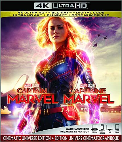 Captain Marvel  [4K Ultra HD + Blu-ray + Digital] (Bilingual)