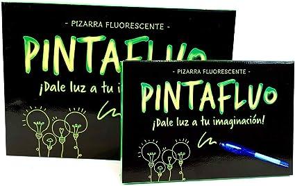 Pintafluo Pizarra Mágica Infantil para Dibujar con luz, A4: Amazon ...
