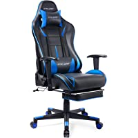 GTRACING Gaming Chair Office Chair High Back Computer Chair Ergonomic Racing Chair with Adjustable Headrest & Armrest and Lumbar Support
