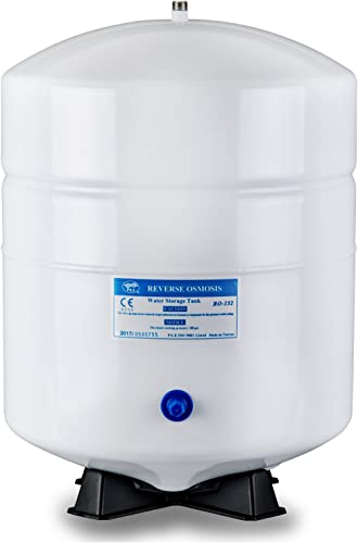 iSpring T55M 5.5 Gallon Residential Pre-Pressurized Water Storage Tank for Reverse Osmosis RO Systems