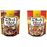 日清シスコ ごろっとグラノーラ 2種アソートセット(チョコナッツ3袋 果実3袋)