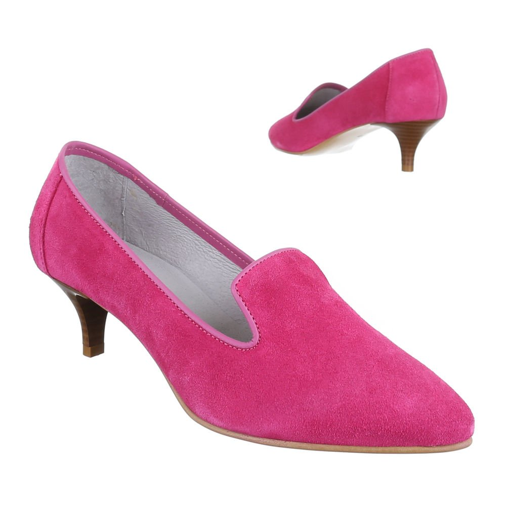Ital-Design Wildleder Damenschuhe Business Pumps Komfort High Heels:  Amazon.de: Schuhe & Handtaschen