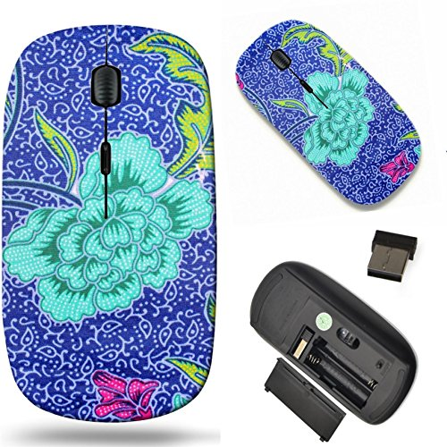 MSD Wireless Mouse Travel 2.4G Wireless Mice with USB Receiver, Noiseless and Silent Click with 1000 DPI for notebook, pc, laptop, computer, mac book design 27379419 popular batik sarong pattern backg