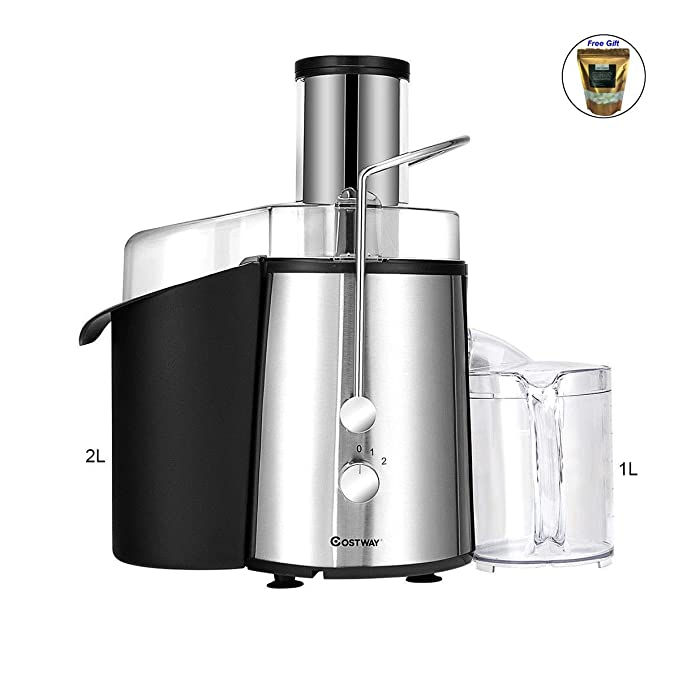 2 Speed Electric Wide Mouth Centrifugal Juice Extractor Only by eight24hours + SPECIAL GIFT