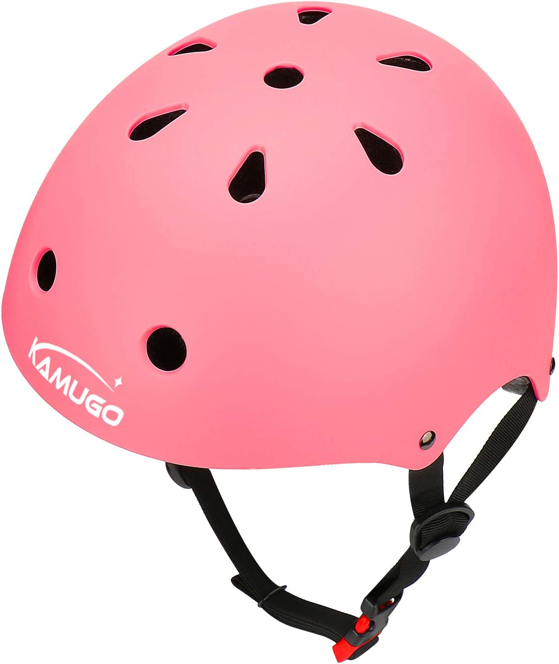 KAMUGO Kids Bike Helmet Adjustable from Toddler to Youth Size, Ages 3-8 Boys Girls Multi-Sport Safety Cycling Skating Scooter Helmet