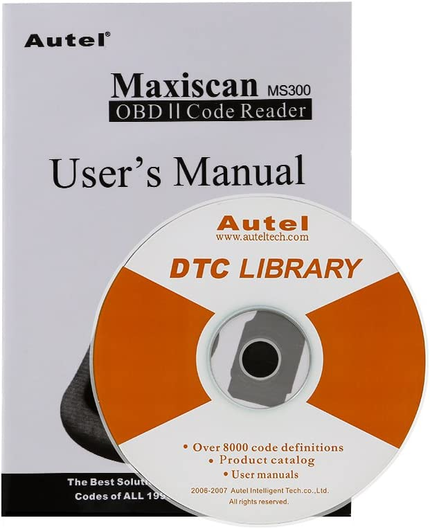Autel MaxiScan MS300 CAN OBDII Scan Tool
