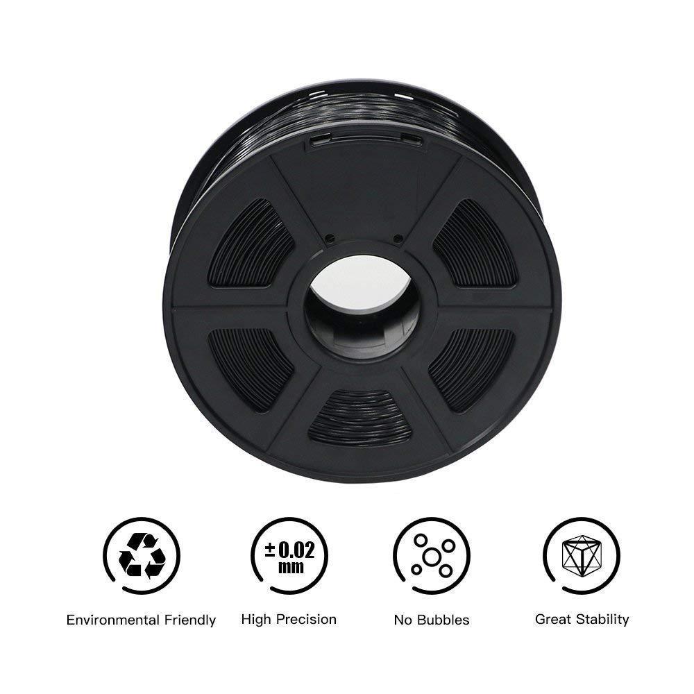 ANYCUBIC Filament PLA 1.75mm Filament impression 3D PLA Filament pour Imprimante 3D /& Stylo 3D PLA Blanc