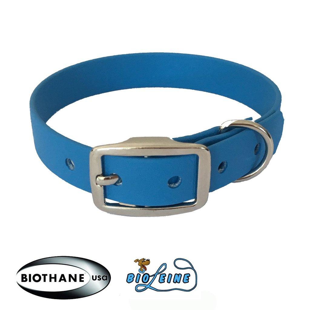 bio-leine collare in Beta Biothane IN19/colori larghezza 25/mm per un personalizzato stampato in otto 8/lunghezze