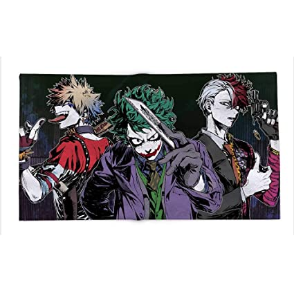 Amazon Com Yloveme Fleece Blanket My Hero Academia Joker