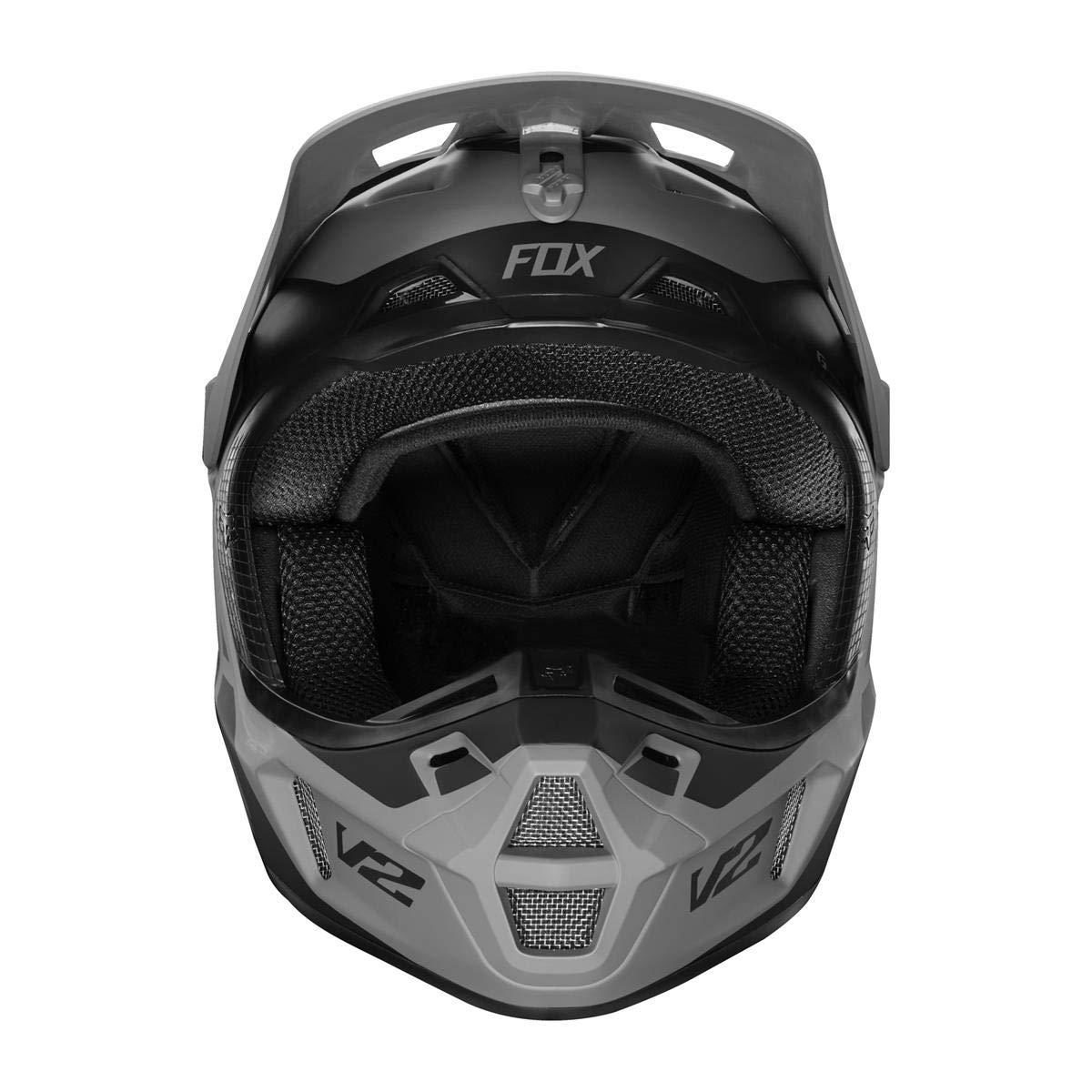 Fox 2019 Murc V2 - Casco de Motocross para Adulto (57 a 58 cm), Color Negro: Amazon.es: Deportes y aire libre