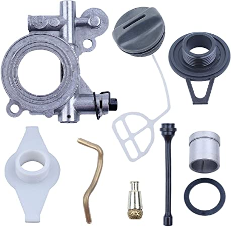 Chainsaw Oil Pump Line Kit For Husqvarna 372XP 371 390 570 576 Replacement Part