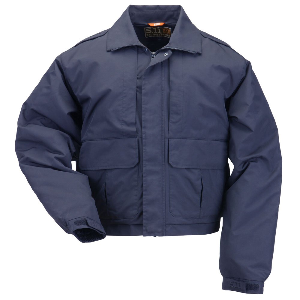 5.11 Tactical #48096 Double Duty Jacket (Dark Navy, Large)