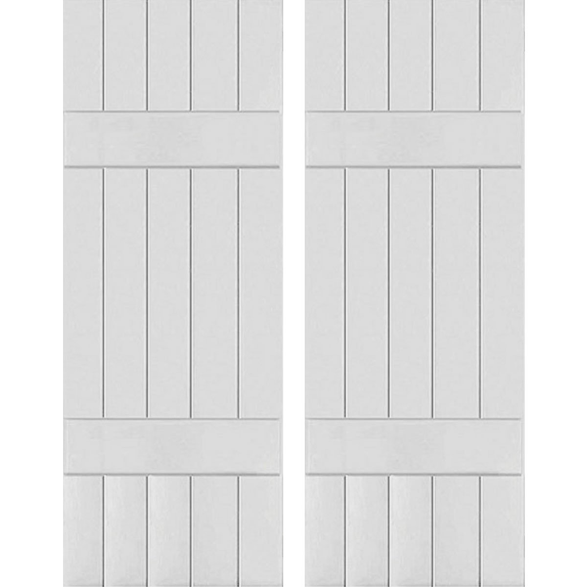 Ekena Millwork CWB18X047PRC Exterior Five Board