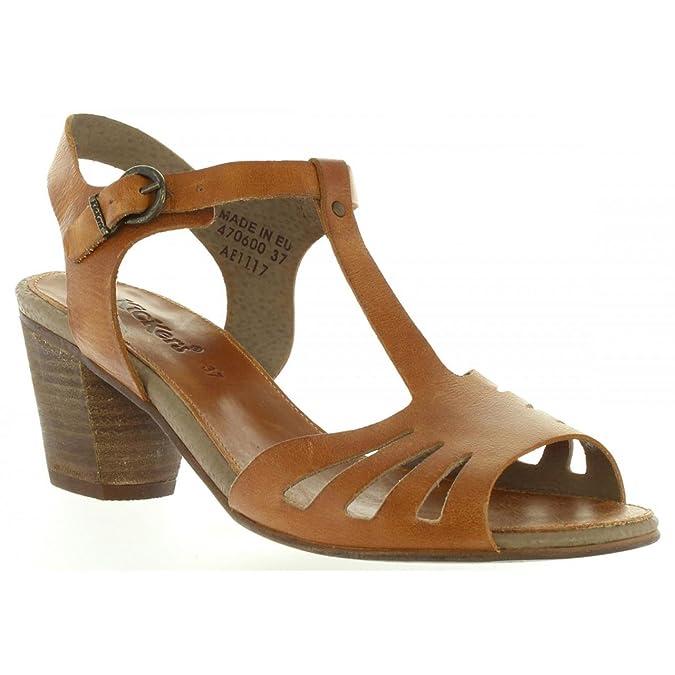 Sandales pour Femme KICKERS 470600-50 SEATTLE 8 NOIR tJo7Kkdv