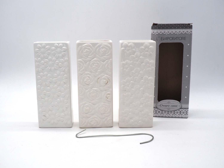 4Humidificadores con diseños de flores, para radiador, vaporizador, humidificador, estufa, fabricados en cerámica PERAGA