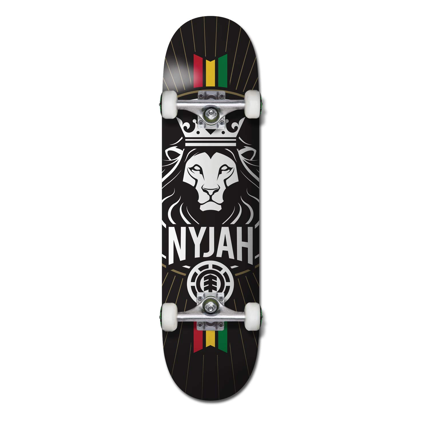 2f2dda21cd4 Amazon.com : Element Nyjah Crown Complete Inch Complete Skateboard Multi  Colored 7.8 : Sports & Outdoors