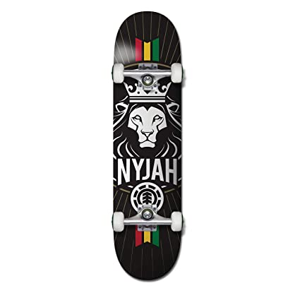 64022291fdc Element Nyjah Crown Complete Inch Complete Skateboard Multi Colored 7.8