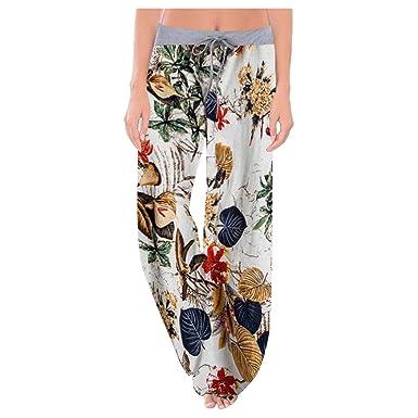Pantalon Para Modelar El Cuerpo Pantalones Mujer Hippies Anchos Energizado Bohemia Pantalon Yoga Mujer Gimnasio Entrenamiento