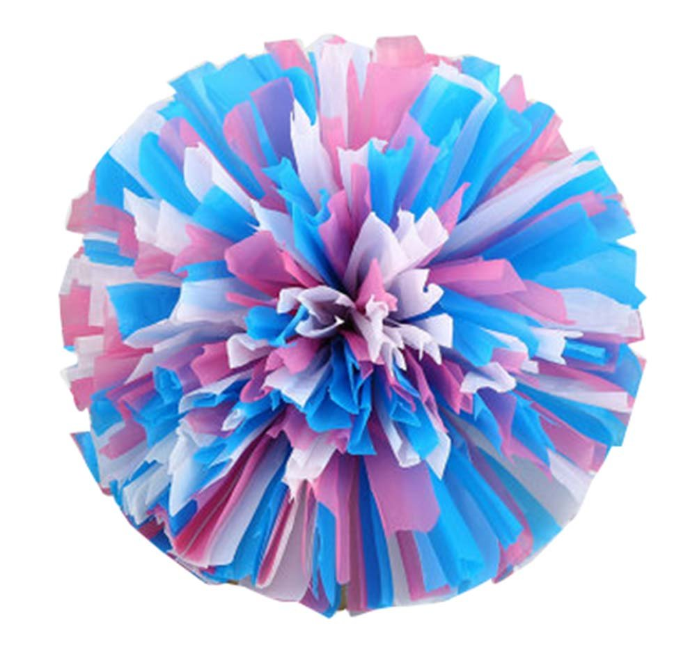 2 Pcs Cheerleading Cheer Pom Poms Dance Cheerleader Pom Poms Sports PANDA SUPERSTORE PS-SPO3402251-LILY00837