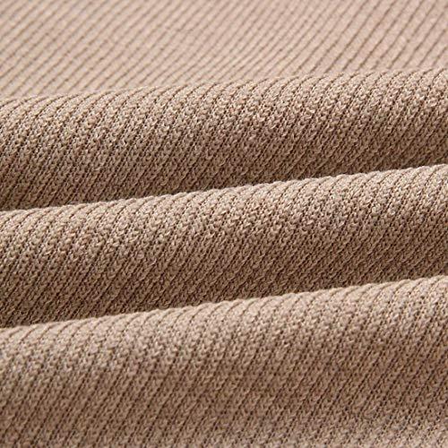 Pullover Blouse T Pull en Couleurs 5 Sweatshirt Longues sans Kaki Bretelle Bateau Solike Femme Chic Option Manches Shirt Col Shirts Chemise Tops Tricot zdOR7qW