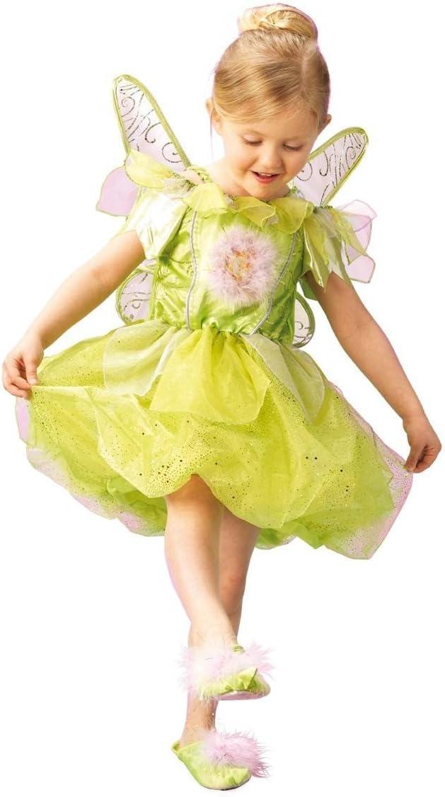 Rubies 3 883685 M - Disfraz infantil de campanilla (5-6 años ...