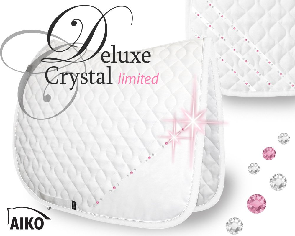 DR AIKO Schabracke Crystal Shine white//black//crystal