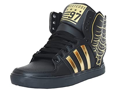 West Code Men's Boots Synthetic Leather Casual Shoes With Wings 6066-G -Black-