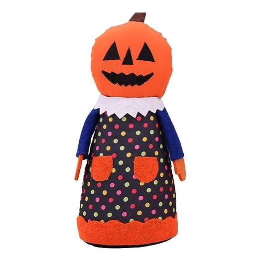 SeniorMar Halloween Tela Muñeca Decoración Tela Fiesta Fantasma ...