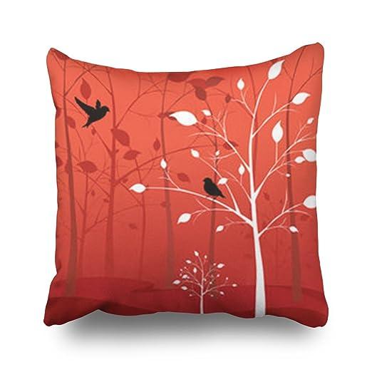 TonTong Design Love Birds Woods Animals Wildlife Tree Custom ...