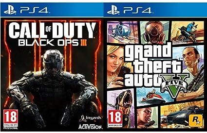 Call Of Duty: Black Ops III + Grand Theft Auto V (GTA V): Amazon.es: Videojuegos