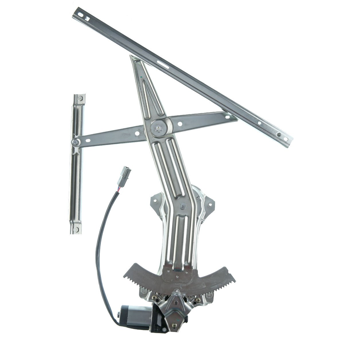 Front Left Driver Side Window Regulator with Motor for Ford Mustang 1994-2004