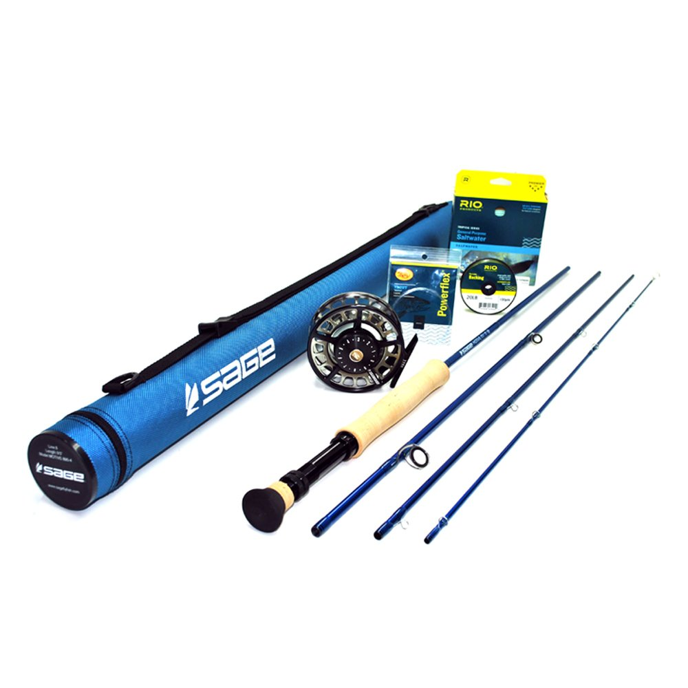 Sage Motive 1090-4 Fly Rod Outfit w/Sage 4210 Reel (9'0'', 10wt, 4pc)