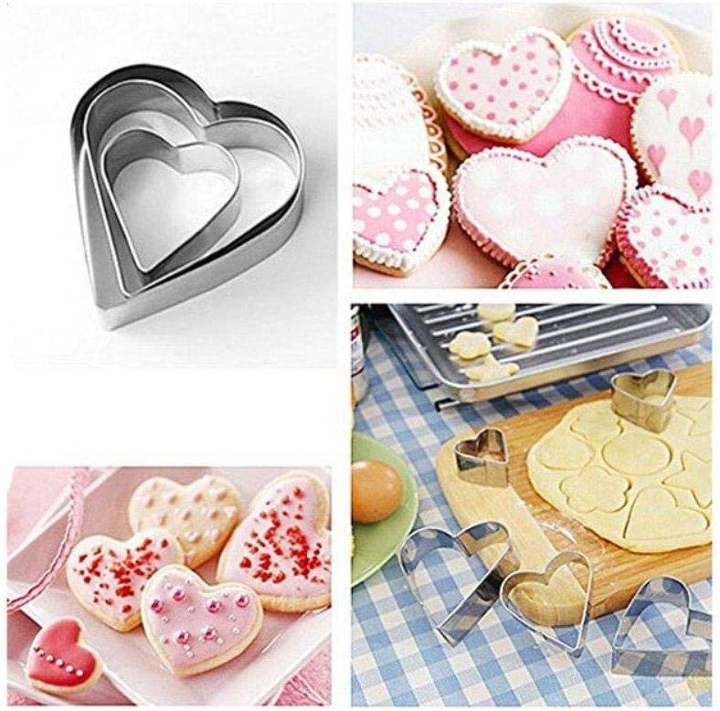 Depory Set di 1 Formine per Biscotti per Bambini DIY Decorazioni Dolci Biscotti Dolci Decorazioni Dolci Pasta Zucchero Acciaio Inox Animali Stampi Biscotti