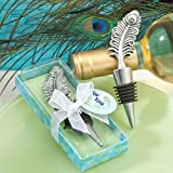 Fashioncraft Peacock Design Bottle Stoppers