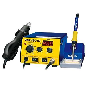 vogvigo estación de soldadura 270 W, Rework estación de soldadura y aire caliente SMD 200 - 480 °C: Amazon.es: Bricolaje y herramientas