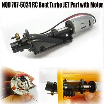 FidgetKute Electric NQD 757-6024 RC Boat Turbo Jet Replacement Part w/ 390 Motor