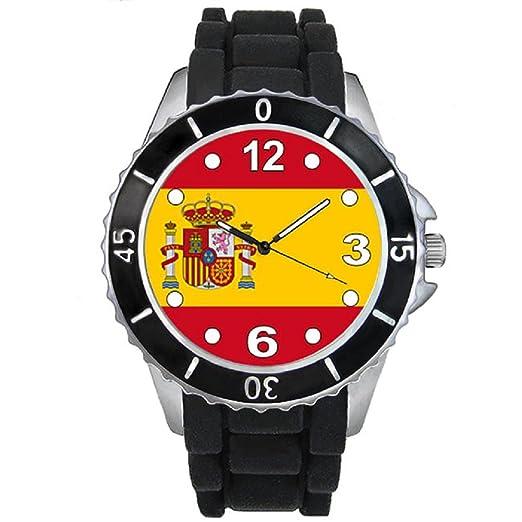 a10d80daa8f0 Timest - España Reloj Unisex con Correa de Silicona Negro Analógico Cuarzo  SE0533  Amazon.es  Relojes