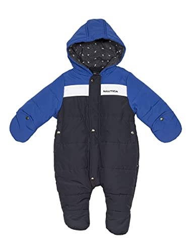 Nautica Boys' Colorblock Snowsuit