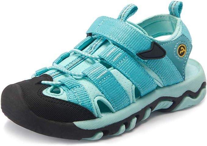 ATIKA Kids Closed Toe Sandals, Outdoor