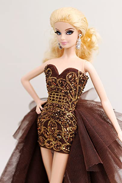 Amazon.com: [Handmade Dress Fit For Barbie Doll] Cora Gu Handmade Lisa Dress (Dollsnot included): Toys & Games
