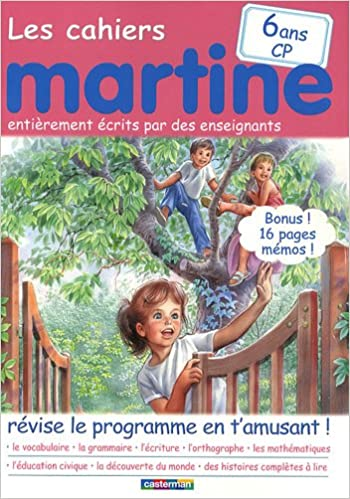 Amazon Fr Les Cahiers Martine Cp Gilbert Delahaye