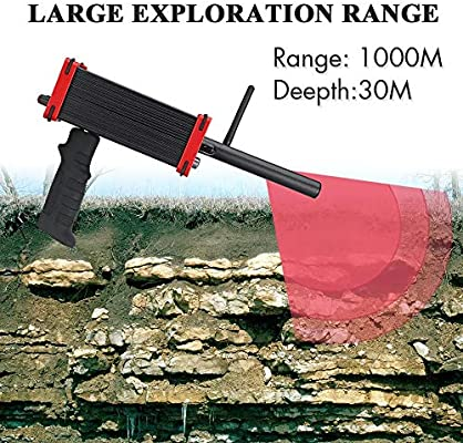MOIMK Profesional de Largo Alcance Detector de Metales Diamond ...